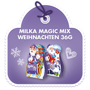 milka magic mix weihnachten 36g. Black Bedroom Furniture Sets. Home Design Ideas