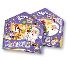 Milka Magic Mix Adventkalender 204g