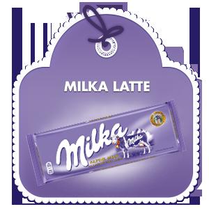 MILKA LATTE 270G