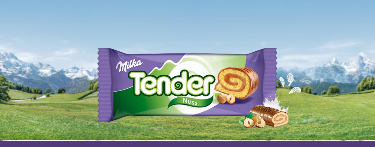 Milka Tender Nuss