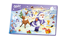 MILKA CALENDRIER DE L'AVENT TRADITIONNEL