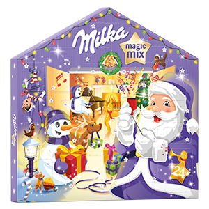 MILKA CALENDRIER DE L'AVENT MAGIC MIX