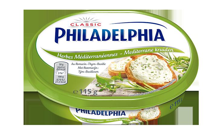 Philadelphia Herbes Mediterranéennes 115g