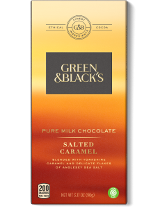 Pure Milk Chocolate Salted Caramel Bar