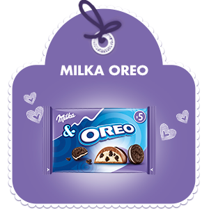 MILKA OREO 5-PAK