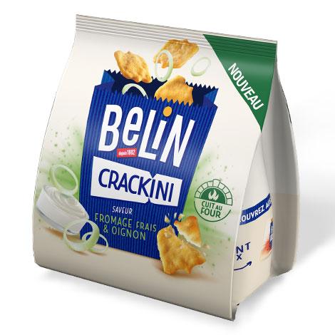 Biscuits - Gateaux - Belin Crackini Fromage Frais Oignon 80g Alt Mondelez Pro
