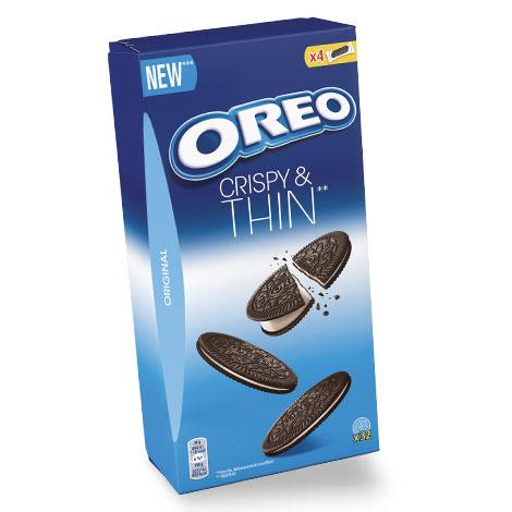 biscuits gateaux Oreo Crispy Thin Vanille 192g Alt Mondelez Pro