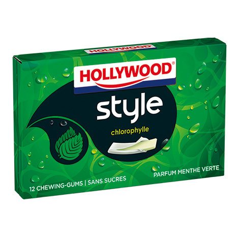 Chewing-gum - Hollywood Style Parfums Chlorophylle 23g Alt Mondelez Pro