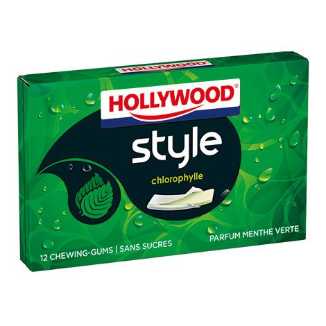 Chewing-gum - Hollywood Style Parfums Chlorophylle 23g Alt Mondelez Pro