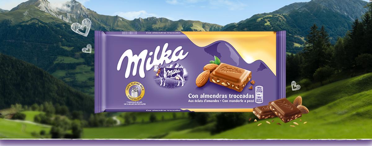 MILKA ALMENDRAS