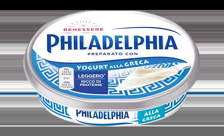Philadelphia con Yogurt alla Greca