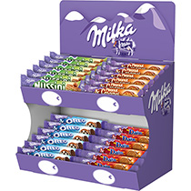 Biscuits - Gateaux - Milka display barres top-4 Mondelez Pro