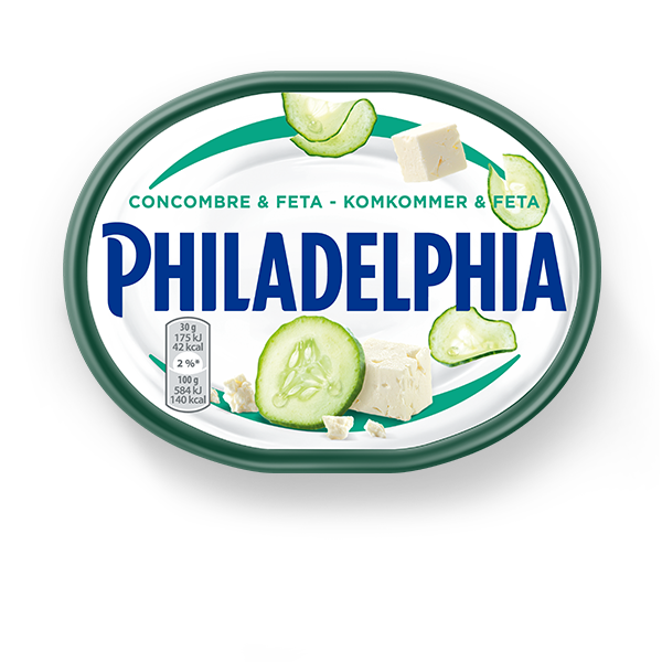 philadelphia-feta-and-komkommer