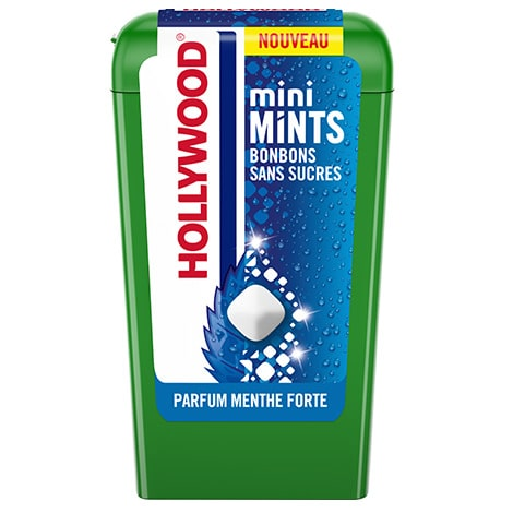 Chewing-gum - Hollywood Mini Mints Menthe Forte 12,5g Alt Mondelez Pro