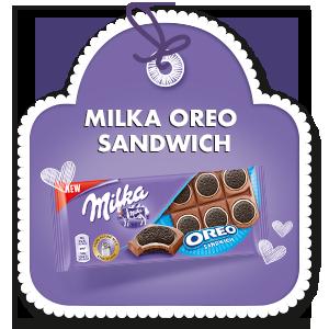 MILKA OREO SANDWICH 92 G