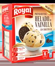Royal ice cream Oreo