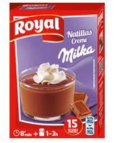 Royal natillas con Milka