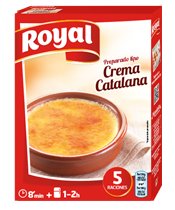 Royal Catalan cream