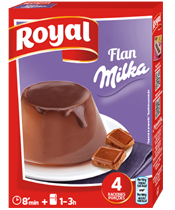 Royal Flan Milka