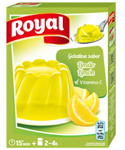 Royal Gelatin Lemon