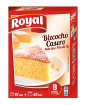 Royal sponge cake / Preparado para bizcocho