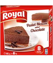 Royal pastel mousse choco