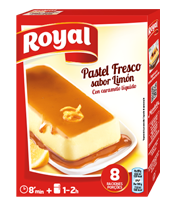 Royal lemon instant cake