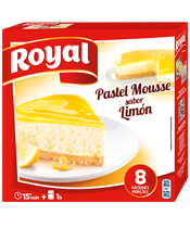 Royal pastel mousse limon
