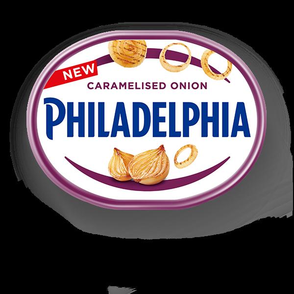 philadelphia-with-caramelised-onion