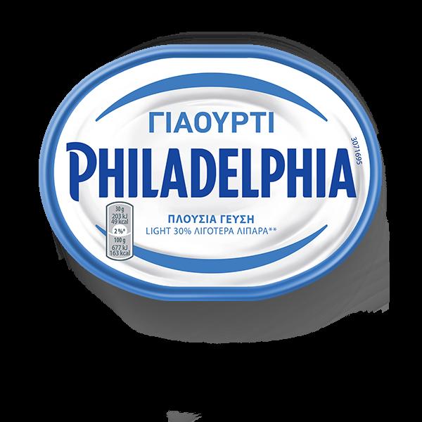 philadelphia-με-γιαούρτι