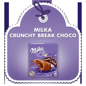 Milka Crunchy Break Choco