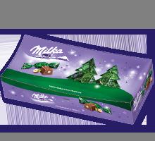 Milka Weihnachtspralinen Haselnuss 350g