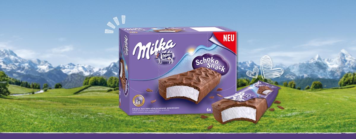 Milka Schoko Snack