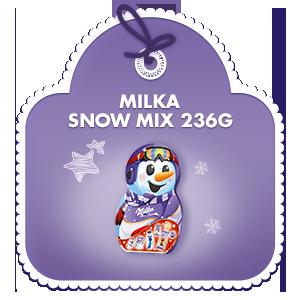 Milka Snow Mix Adventkalender 236g