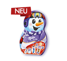 Milka Snow Mix Adventkalender 236g