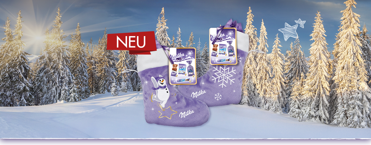Milka Magic Mix Stiefel 196g