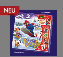 Milka & Super Mario™ Adventskalender 148g - Mario