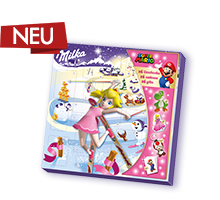 Milka & Super Mario™ Adventskalender 148g - Peach