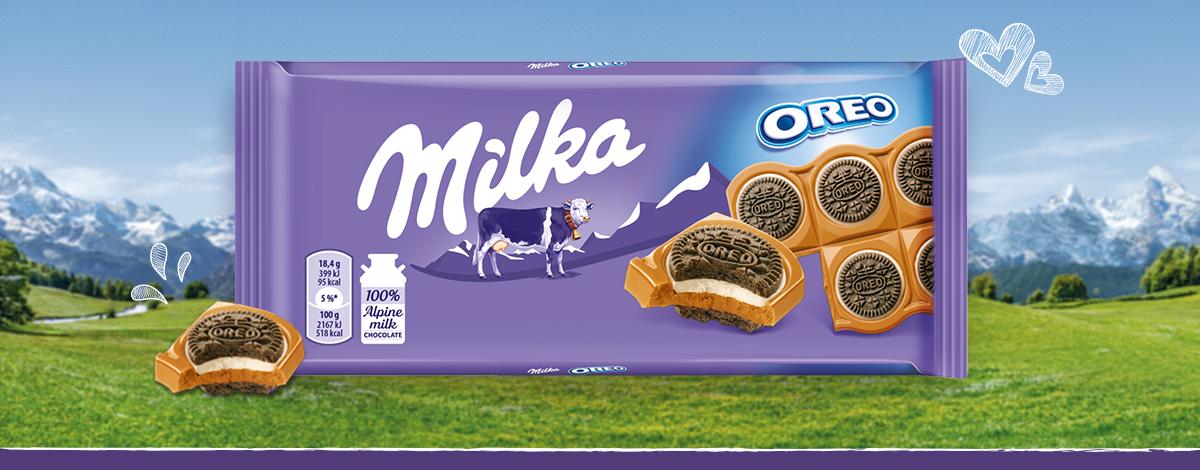 Milka Oreo Sandwich 92G