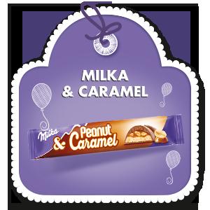 MILKA & PEANUT CARAMEL 37g