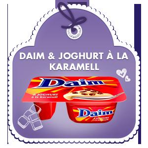 Daim & Joghurt à la Karamell