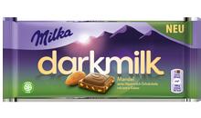Milka Dark Milk Mandel