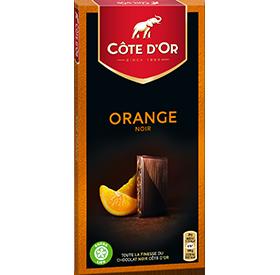 FIN Noir Orange