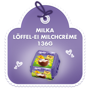 Milka Löffel-Ei Milchcrème 136g