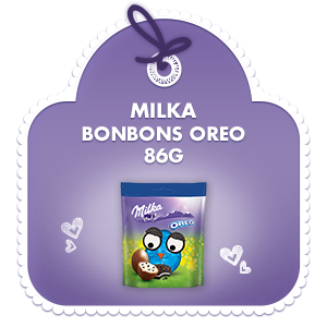 Bonbons Oreo 86g