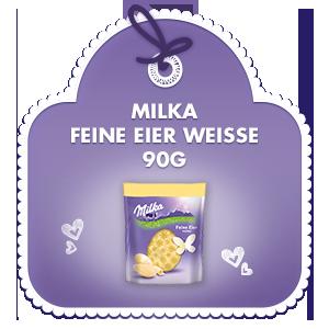 Milka Feine Eier Weisse 90g