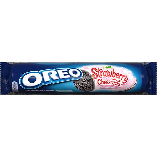 Oreo Saveur Cheesecake à la fraise 154g