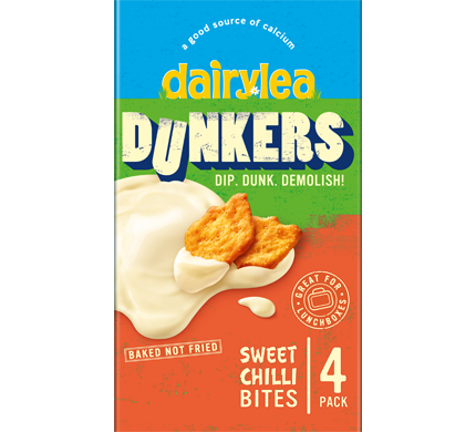 Dunkers with Sweet Chilli Baked Bites