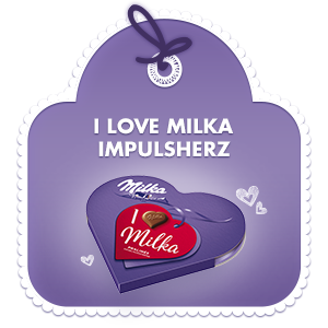 I love Milka Impulsherz 44g