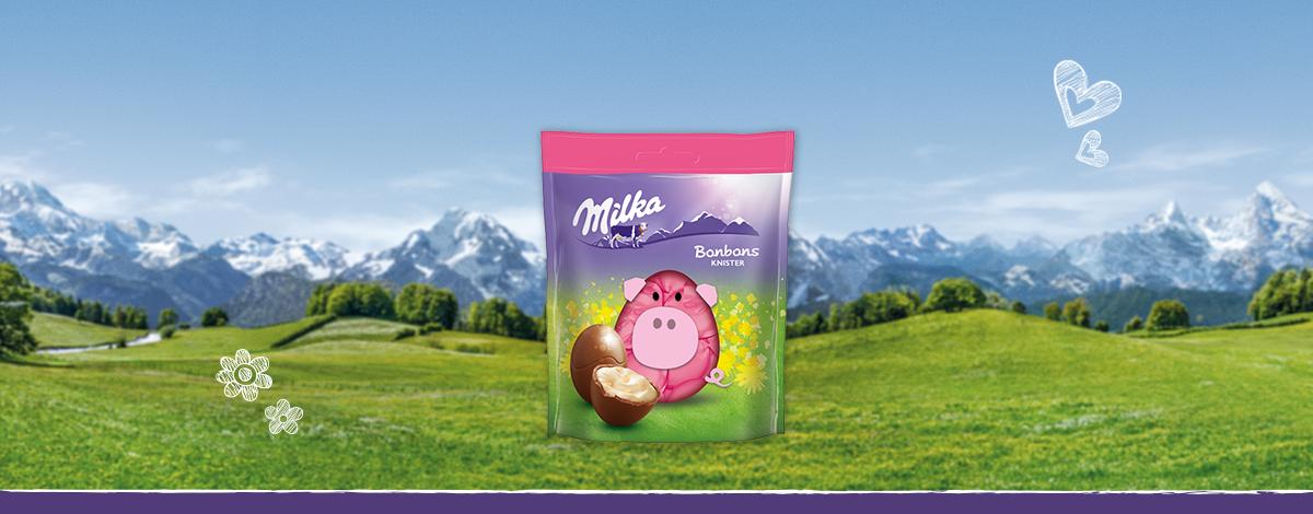 Milka Bonbons Knister 86g